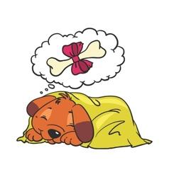 Cartoon Comic of Dog vector image vector image