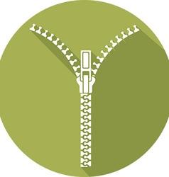Zipper Icon vector image vector image