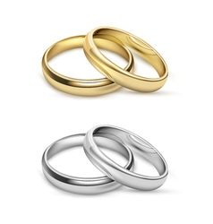 Symbolic Wedding Objects vector image