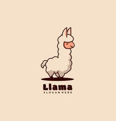 Animal mascot logo design vector