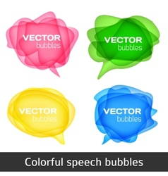 bubbles for speech vector image
