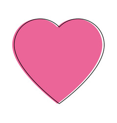 Heart icon image vector