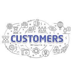 Linear customers vector