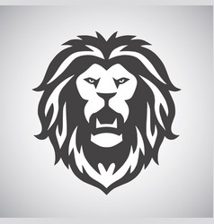 Lion roar logo vector