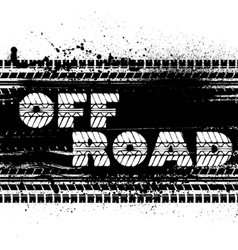 Off road background vector
