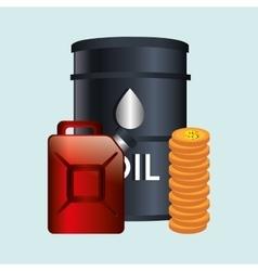 oil prices design vector image
