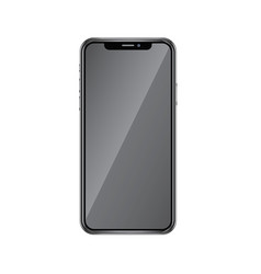 Realistic iphone x realistic vector