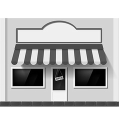 Shop window Stock vector image