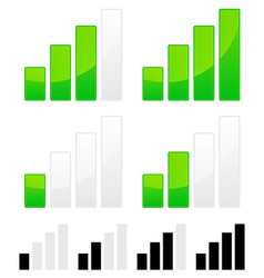 Signal strength indicator set vector