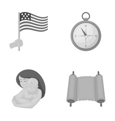 tourism health history and other web icon in vector image