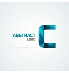 Letter C icon design element vector image vector image