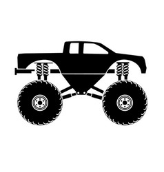 Bigfoot truck vector