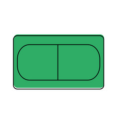 Pill healthcare related icon image vector