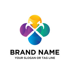 Tool logo design vector