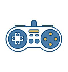 Videograme controller icon vector