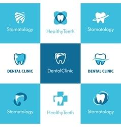 Dental Clinic Teeth Logo vector image