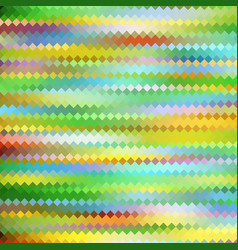 Abstract color mosaic vector