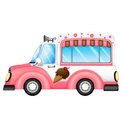 An ice cream car vector image