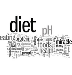 Is ph miracle diet right for you vector