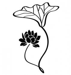 lotus vector vector image