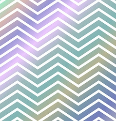 Colorful chevron pattern background vector image