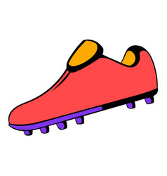 football boot icon icon cartoon vector image