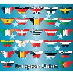 European Union small vector image