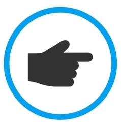 Right Index Finger Icon vector image