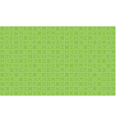 375 green puzzles pieces jigsaw - vector
