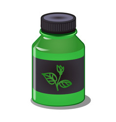 a concentrate of mineral and organic fertilizers vector image