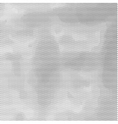 black halftone stained background vector image