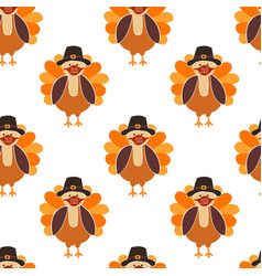 Corona thanksgiving turkey seamless pattern vector