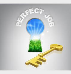 Key to perfect job vector