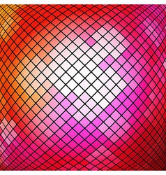Mosaic Red Background vector image