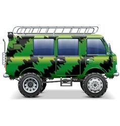 Offroad Travel Car vector