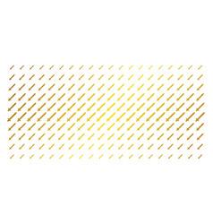 Sword gold halftone pattern vector