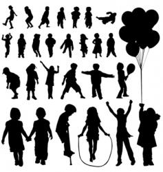 children set vector image vector image