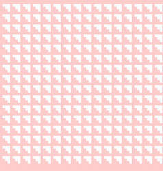 tile pastel pink and white abstract pattern vector image vector image