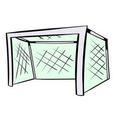 football gate icon icon cartoon vector image
