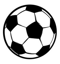 football ball icon icon cartoon vector image