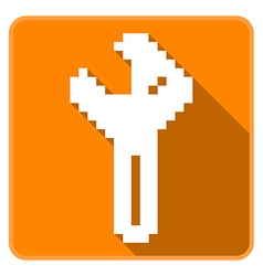 Wrench vector image