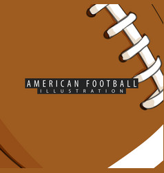 Background of the ball for american football vector