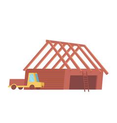 construction site icon vector image