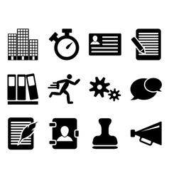 Icon set twelve vector