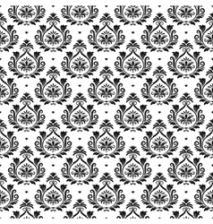 Oriental arabesque texture vector