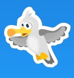 Seagull Sticker vector