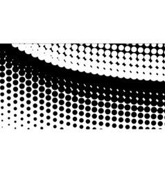Diag Half Tone vector image vector image