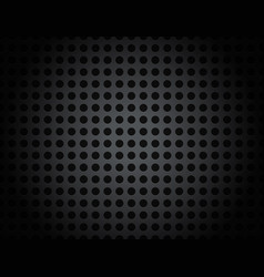 black metal grid pattern background vector image
