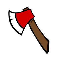 Ax chop icon vector