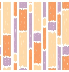 Blue paint vertical stripes seamless pattern vector